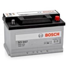 Acumulator auto Bosch S3 12V 70Ah 640Aen 0092S30070