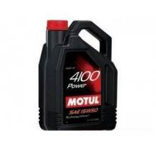 MOTUL 4100 POWER 15W50 4LITRI