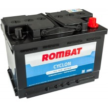 Acumulator auto Rombat Cyclon 12V 72AH 600Aen