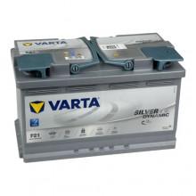 Acumulator auto Varta Silver Dynamic AGM F21 12V 80AH 800Aen 580901080 D852