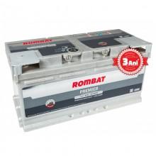Acumulator auto Rombat Premier 12V 90AH 850Aen 3 ani garantie