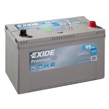 Baterii auto Exide Premium EA954 12V 95AH 800Aen asia borna normala