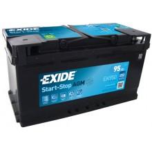 Acumulator auto Exide Start-Stop AGM EK950 12V 95AH 850Aen