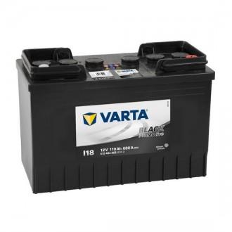 Acumulator auto Varta Promotive Black I18 12V 110AH 680Aen 610404068 A742