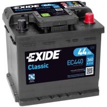 Baterii auto Exide Classic EC440 12V 44AH 360Aen