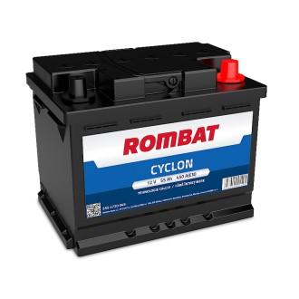 Baterii auto Rombat Cyclon 12V 55AH 450Aen