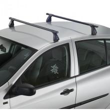 Set 2 bare transversale aluminiu Cruz - BMW Serie 3 Coupe 3 usi (E46) 2000-2006, cu puncte fixe de prindere, cu bare Oplus AX