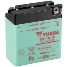 Baterie moto Yuasa 6N11A-1B 6V 11AH