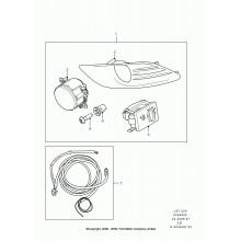 Rama proiector Ford Focus II 1671268 1671269