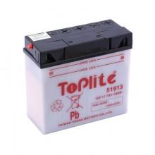 Baterie moto Toplite Yuasa 12V 19AH 51913