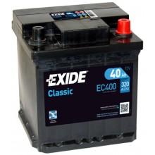 Baterii auto Exide Classic EC400 12V 40AH 320Aen