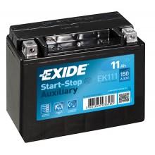 Baterii auto Exide Start-Stop Auxiliary EK111 12V 11AH 150Aen