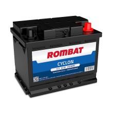 Baterii auto Rombat Cyclon 12V 62AH 510Aen
