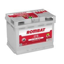 Baterii auto Rombat EFB 12V 60AH 560Aen