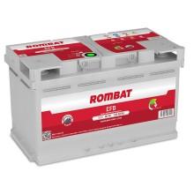 Baterii auto Rombat EFB 12V 80AH 730Aen