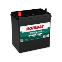 Baterii auto Rombat Tornada Asia 12V 40AH 300Aen borna inversa