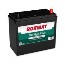 Baterii auto Rombat Tornada Asia 12V 50AH 420Aen borna normala