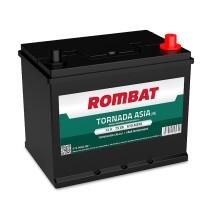 Baterii auto Rombat Tornada Asia 12V 75AH 610Aen borna normala