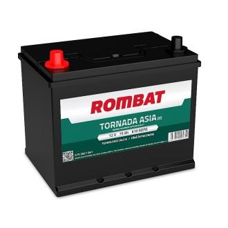 Baterii auto Rombat Tornada Asia 12V 75AH 610Aen borna inversa