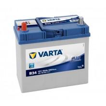 Baterii auto Varta Blue Dynamic B34 12V 45AH 330Aen asia borna inversa 545158033 3132