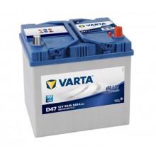 Baterii auto Varta Blue Dynamic D47 12V 60AH 540Aen asia borna normala 560410054 3132