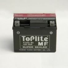 Baterie moto Toplite Yuasa 12V 3AH YTX4L-BS