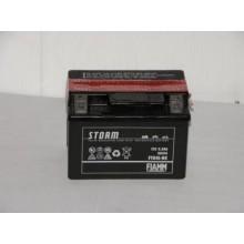 Baterie moto Fiamm Storm 12V 3AH FTX4L-BS, YTX4L-BS