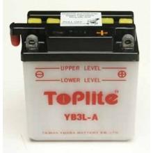 Baterie moto Toplite Yuasa 12V 3AH YB3L-A