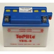 Baterie moto Toplite Yuasa 12V 4AH YB4L-B, CB4L-B