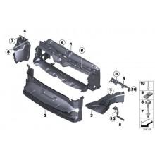 Deflector superior BMW 51747255413