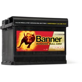 Baterii auto Banner Running Bull AGM 560 01 12V 60AH 640Aen