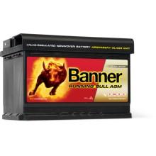 Acumulator auto Banner Running Bull AGM 570 01 12V 70AH 720Aen