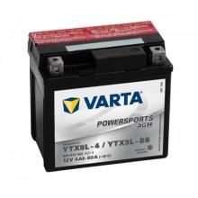 Baterie moto Varta Powersports AGM 12V 4AH YTX5L-BS, YTX5L-4, 504012003 A514