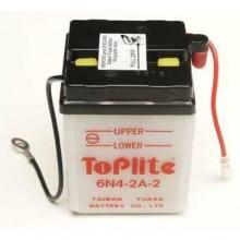 Baterie moto Toplite Yuasa 6V 4AH 6n4-2a-2