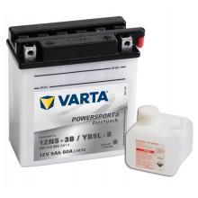 Baterie moto VARTA Powersports FreshPack 12V 5AH YB5L-B, 12N5-3B, 505012003 A514