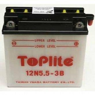 Baterie moto Toplite Yuasa 12V 5.5AH 12N5.5-3B