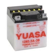 Baterie moto Toplite Yuasa 12V 5.5AH 12N5.5A-3B