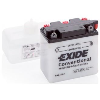 Baterie moto Exide Conventional 6V 6AH 6N6-3B-1