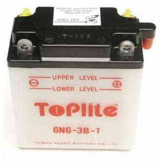 Baterie moto Toplite Yuasa 6V 6AH 6N6-3B-1
