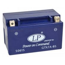 Baterie moto Landport Gel 12V 6AH GTX7A-BS, YTX7A-BS, YTX7A-4