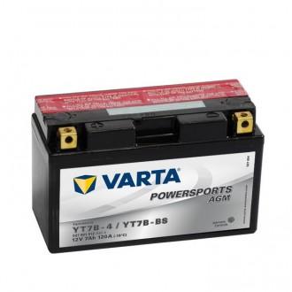 Baterie moto Varta Powersports AGM 12V 7AH YT7B-BS, YT7B-4, 507901012 A514