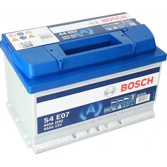 Acumulator auto Bosch S4 EFB 12V 65AH 650Aen 0092S4E070