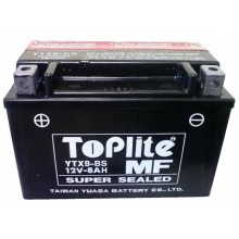 Baterie moto Toplite Yuasa AGM 12V 8AH YTX9-BS, YTX9-4