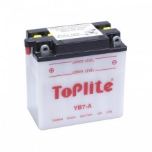 Baterie moto Toplite Yuasa 12V 8AH YB7-A, CB7-A