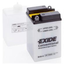 Baterie moto Exide Conventional 6V 10AH B49-6