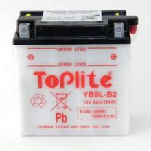 Baterie moto Toplite Yuasa 12V 9AH YB9L-B2, 12N9-3B