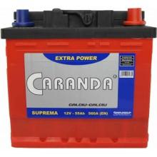 Baterii auto Caranda Suprema 12V 55Ah 560A