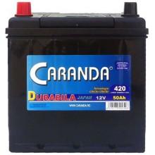 Baterii auto Caranda Durabila 12V 50AH 420Aen asia borna inversa