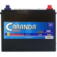 Baterii auto Caranda Durabila 12V 70AH 540Aen asia borna normala