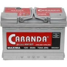 Baterii auto Caranda Maxima 12V 80Ah 720Aen